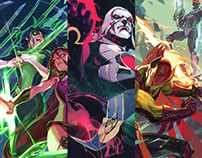 Justice League Odyssey COVERS