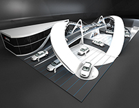 dongfeng exhibition design stand                   expo