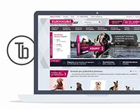 EUKANUBA - redesign oficiálního e-shopu