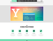 Yopta creative wordpress theme