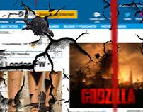 Warner Bros. Godzilla 2014 Takeover Banner