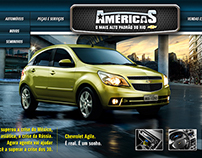 Website Chevrolet Grupo Américas