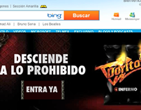 Doritos Inferno. Takeover banner