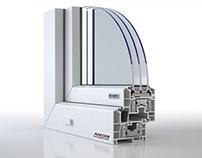 Window profiles for Aikon Distribution