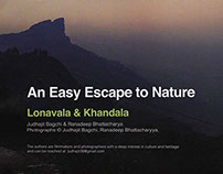 Lonavala & Khandala for Maharashtra Unlimited Magazine