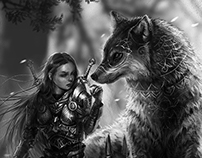 Lady of the Wolves