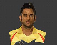 Chennai Super Kings Team Illustrations