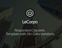 LeCorpo - Onepge Corporate Template