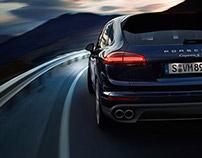 Porsche Cayenne S & S Diesel - CGI & Retouching
