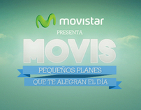 Movistar- Pack Movis campaign