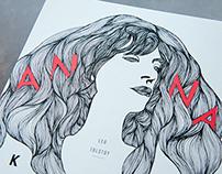 Book Cover Project - Anna Karenina