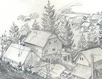 Sketch (Karpaty, Slavske)