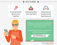 UX Testing of Your Mobile App [Infographic]