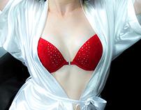 Erotic massage shooting / Shooting Salon de massage