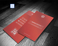 UI style Business card