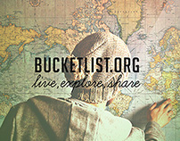 Bucketlist.org redesign
