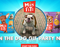 Misfits Treats - Dog Gif Party