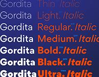 Gordita Typeface