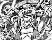RedBull - Ilustración
