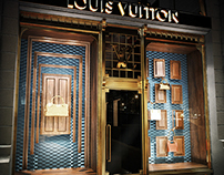 Louis Vuitton Window Displays