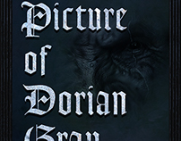 Dorian Gray Book Cover Design