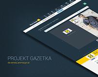 Projekt Gazetka - promocyjni.pl