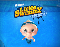 HUGGIES - LITTLE SWIMMY SPLASH