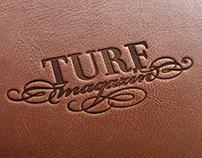 TURF Magazine design