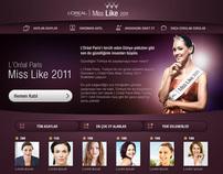 L'ORÉAL PARIS - MISS LIKE 2011 CONTEST