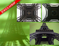 Tour Eiffel - chroma key compositing gallery two