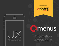 Omenus Mobile App | UX Process [Updated]