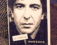 A Short Zine About How Leonard Cohen Is Totally AWESOME