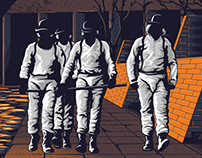 Clockwork Orange tribute