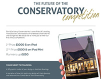 The Future of the Conservatory Competition Flyer