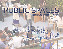 PUBLIC SPACES: Join tablecloths, share your food