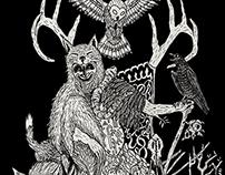 Basajaun - The spirit of the woods in basque mithology.