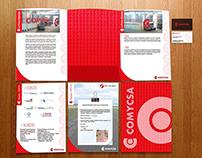 Identidad Corporativa para COMYCSA S.A.