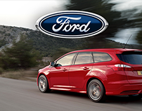 """Ford Focus ST Estate """"Feel Younger"""""""