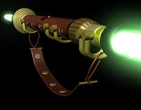 Rustic Lightsaber 3d