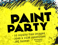 #PackADay - 7/25/14 Paint Party Backgrounds