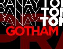 Gotham Font Typography Poster!