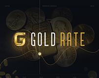 Gold Website UI/UX