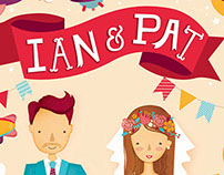 Ian + Pat Wedding Invitation