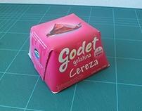 Packaging: Gelatina Godet