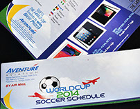 Fifa World Cup 2014 Guess the Winner to Win Brochure
