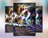 NEON Party Flayer
