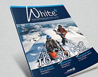 """""""White +"""" Consumer Ski Magazine"""