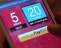 Webapp compra online de Tokens Low Festival/PayPal