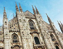 Duomo - architectural Milan