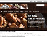 Alamo Pecan Ecommerce Site Redesign